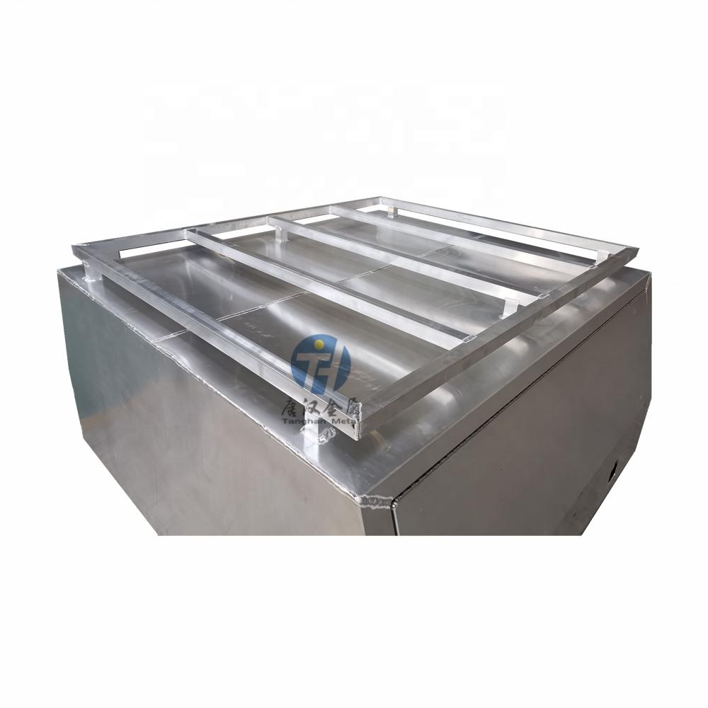 Wholesale Custom Powder Coated Dual Cab Ute Tray Aluminum Canopy With Heavy Duty Roof Rack