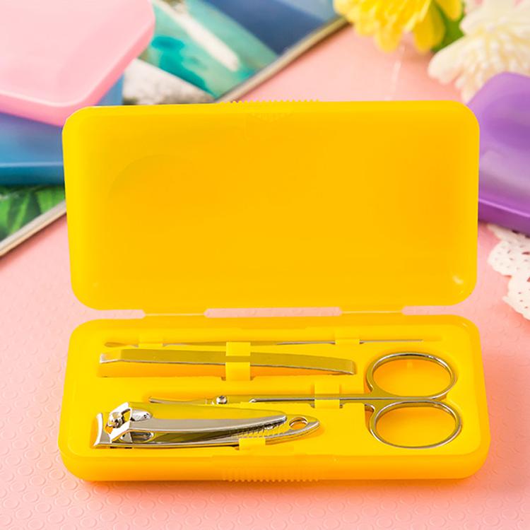 Автоматическая машинка для стрижки ножниц маникюрный набор для путешествий машинка для стрижки ногтей набор инструментов для стрижки ногтей с принтом логотипа