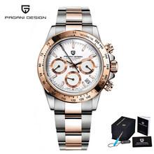 PAGANI дизайнерские Роскошные мужские часы Лидирующий бренд Мужские кварцевые наручные часы Бизнес Автоматическая Дата часы хронограф Reloj ...(Китай)