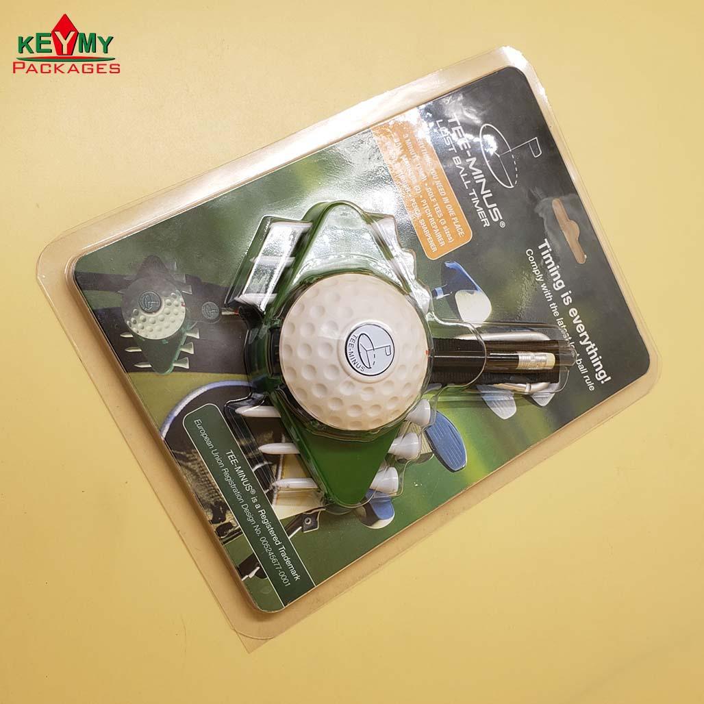 ПВХ блистерная упаковка для мячей для гольфа на заказ от проверенной ФАБРИКИ Shenzhen ISO