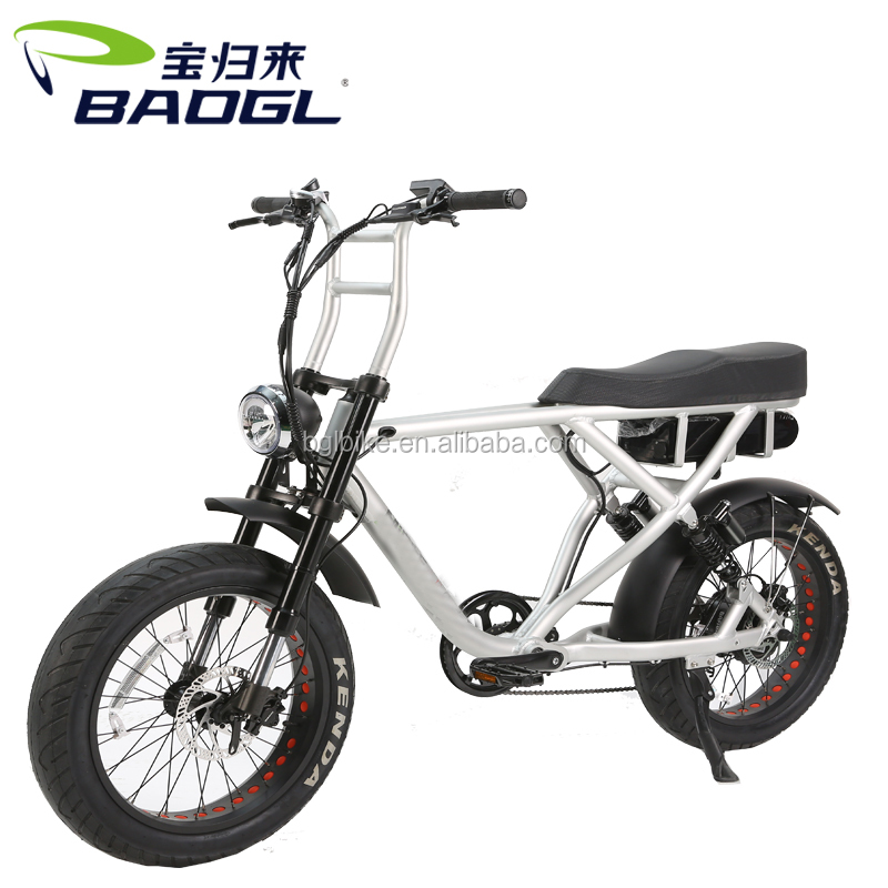 Factory strong electric bike battery hidden electric bike 750W