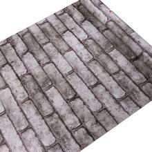 Водонепроницаемые кирпичные обои для домашнего интерьера самоклеющиеся деревянные обои кирпичные обои 3d обои для стен(Китай)