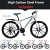 उच्च कार्बन स्टील फ्रेम 10 प्रवक्ता