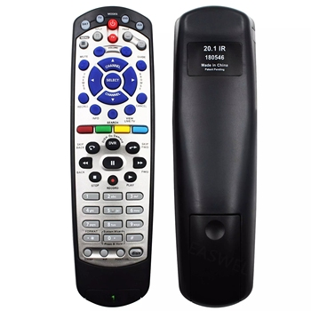 New Replacement IR Satellite Receiver Remote Control For Dish-Network DISH 20.1 TV DVD VCR Fernbedienung Free Shipping