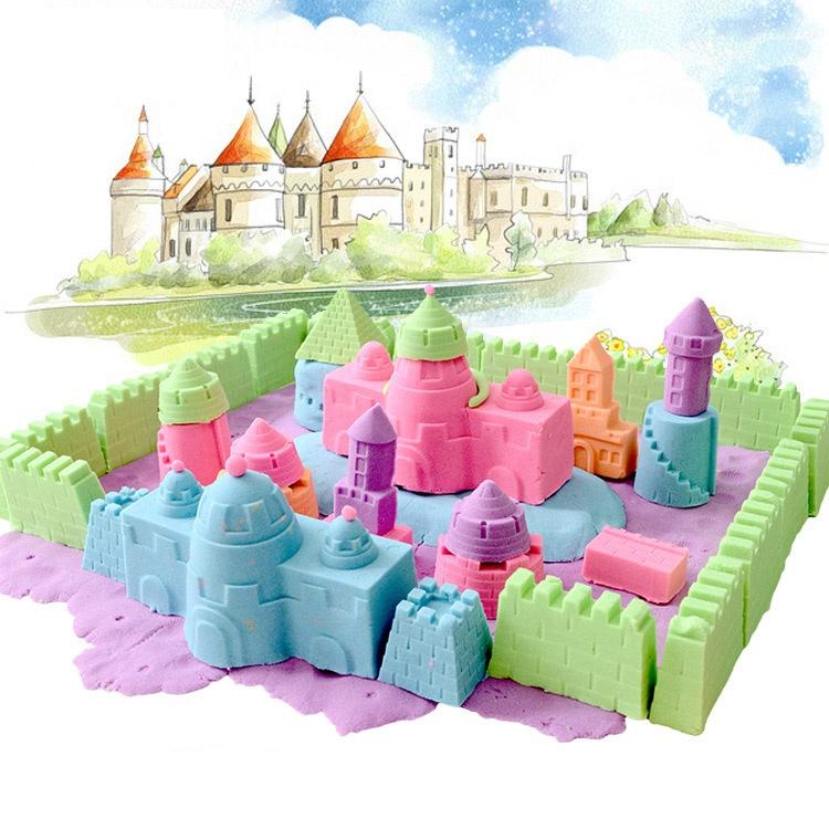 Хорошее качество, игровой песок, волшебный игровой песок на заказ для детей, развивающие игрушки