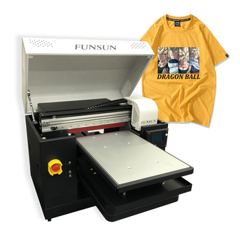 Direct to garment printer textile dtg printer cotton small t-shirt printing machine digital a3 polo sweater t shirt printer