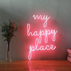 Decoration Home Decor Ip68 Silicone 12V Acrylic Flex Led Lights Strip Letters Neon Sign