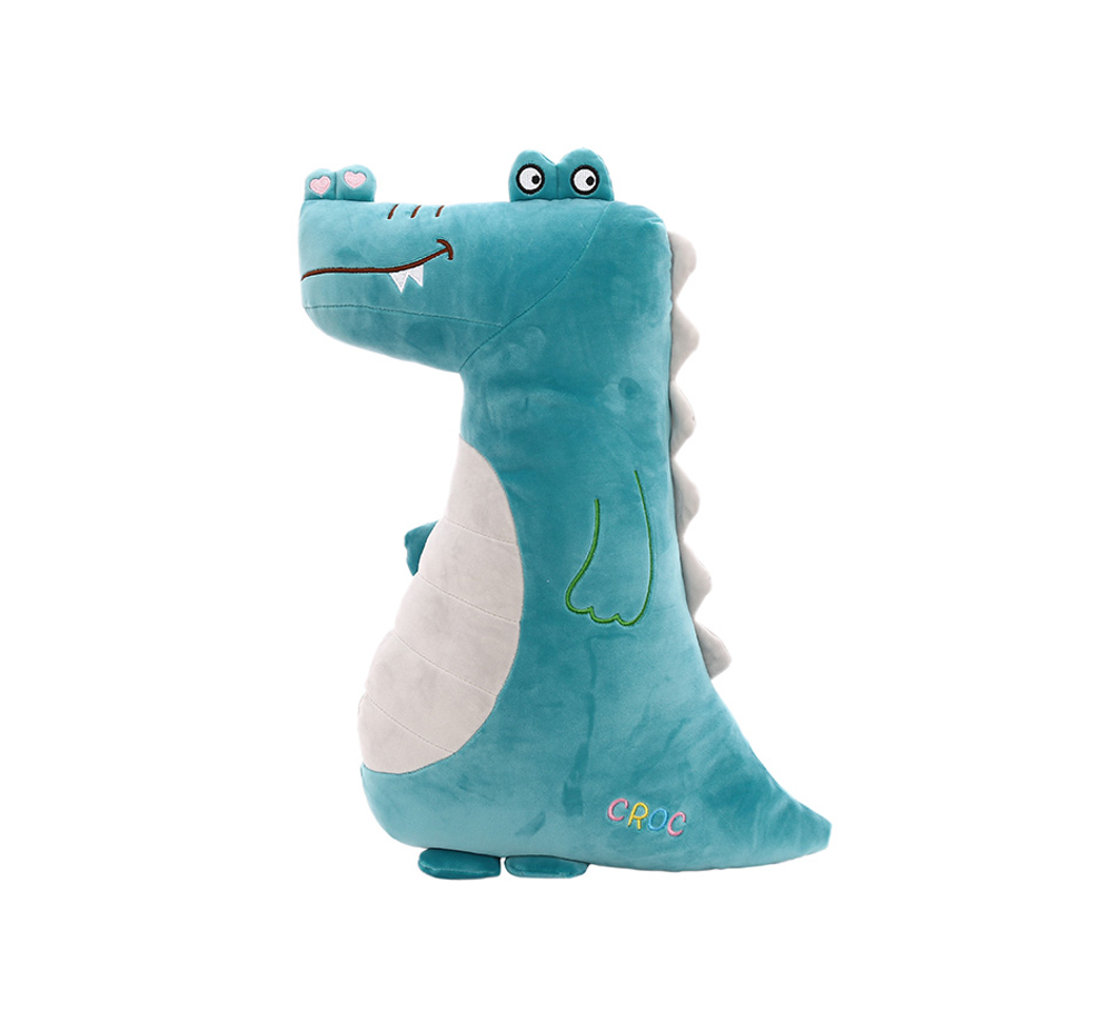 Funny Popular Gifts Creative Stuffed OEM Crocodile Super Soft DIY Custom Plush Toy For Kids Playing With Stuffed Dolls