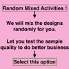 Mix designs randomly