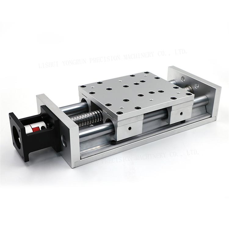 screw driven linear stage XYZ motorized linear stage YR-SBRS140K with maximum stroke 1800mm