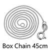 Box chain 45cm