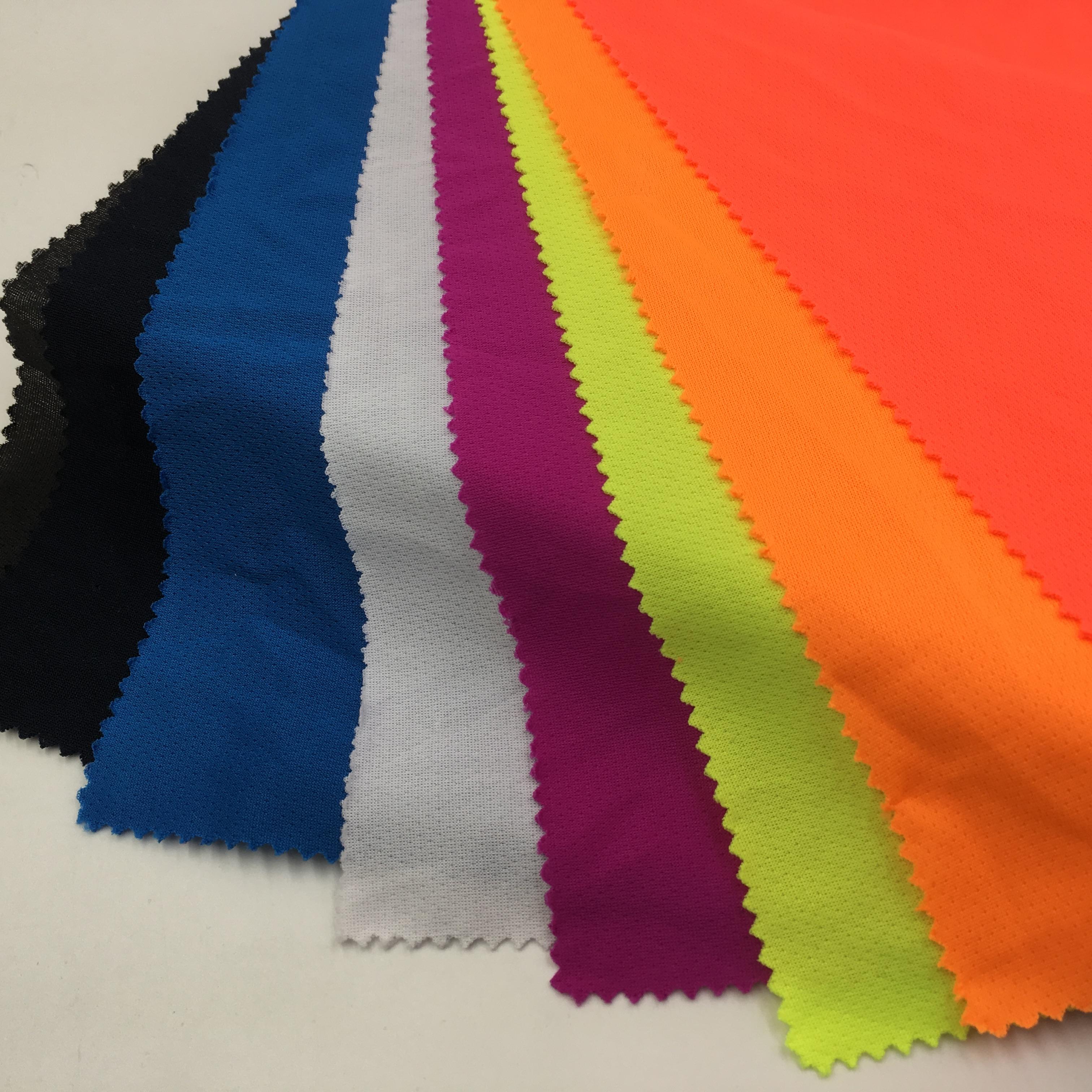 Высококачественная многоцветная рубашка-поло из 100% полиэстера, трикотажная ткань пике