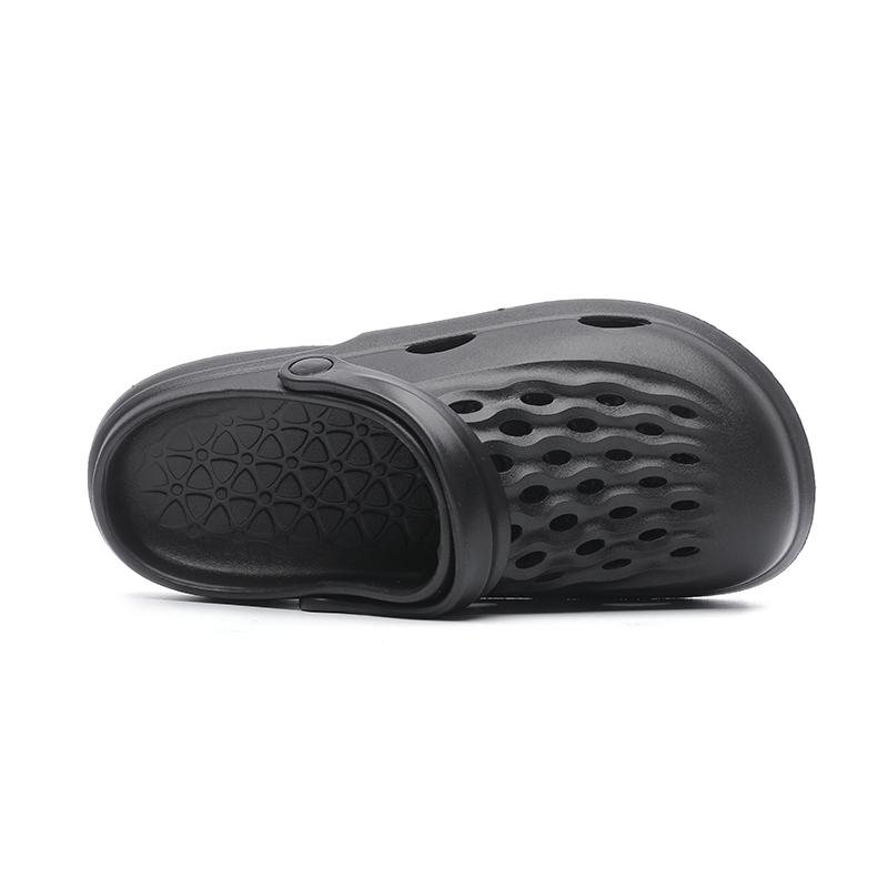 Мужские Тапочки нового дизайна EVA, летние уличные Нескользящие туфли с отверстиями, удобные садовые туфли, которые могут быть изготовлены на заказ