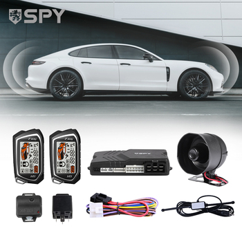 SPY Wireless Keyless Entry Universal Auto Smart Security Remote Start Car Alarm System