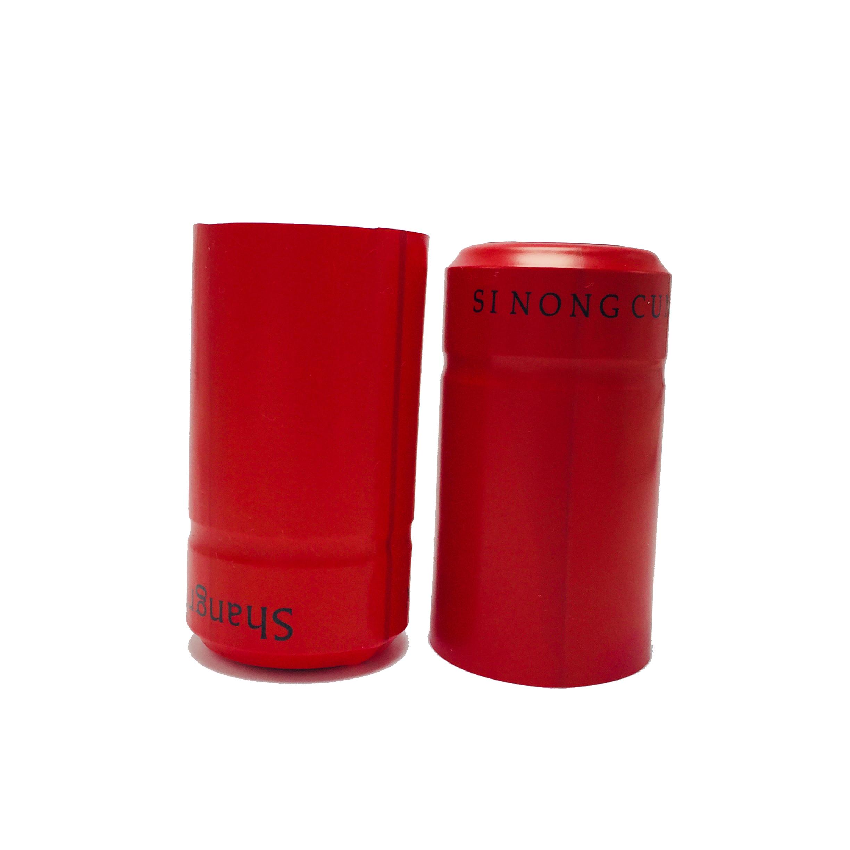 Термоусадочная крышка из алюминиевой фольги для винных бутылок, термоусадочная крышка из ПВХ для винных бутылок, термоусадочные крышки для винных бутылок