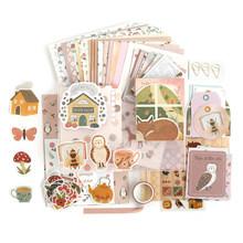 1 комплект материал для скрапбукинга, Рукописное украшение, блокнот, записная книжка, записная книжка, наклейки для скрапбукинга, лента для ...(Китай)