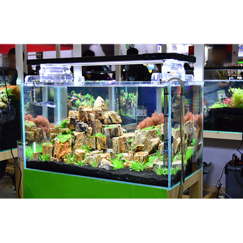 China Big Factory Good Price Super White Glass Rectangular Fish Aquarium, Glass Fish Tank@