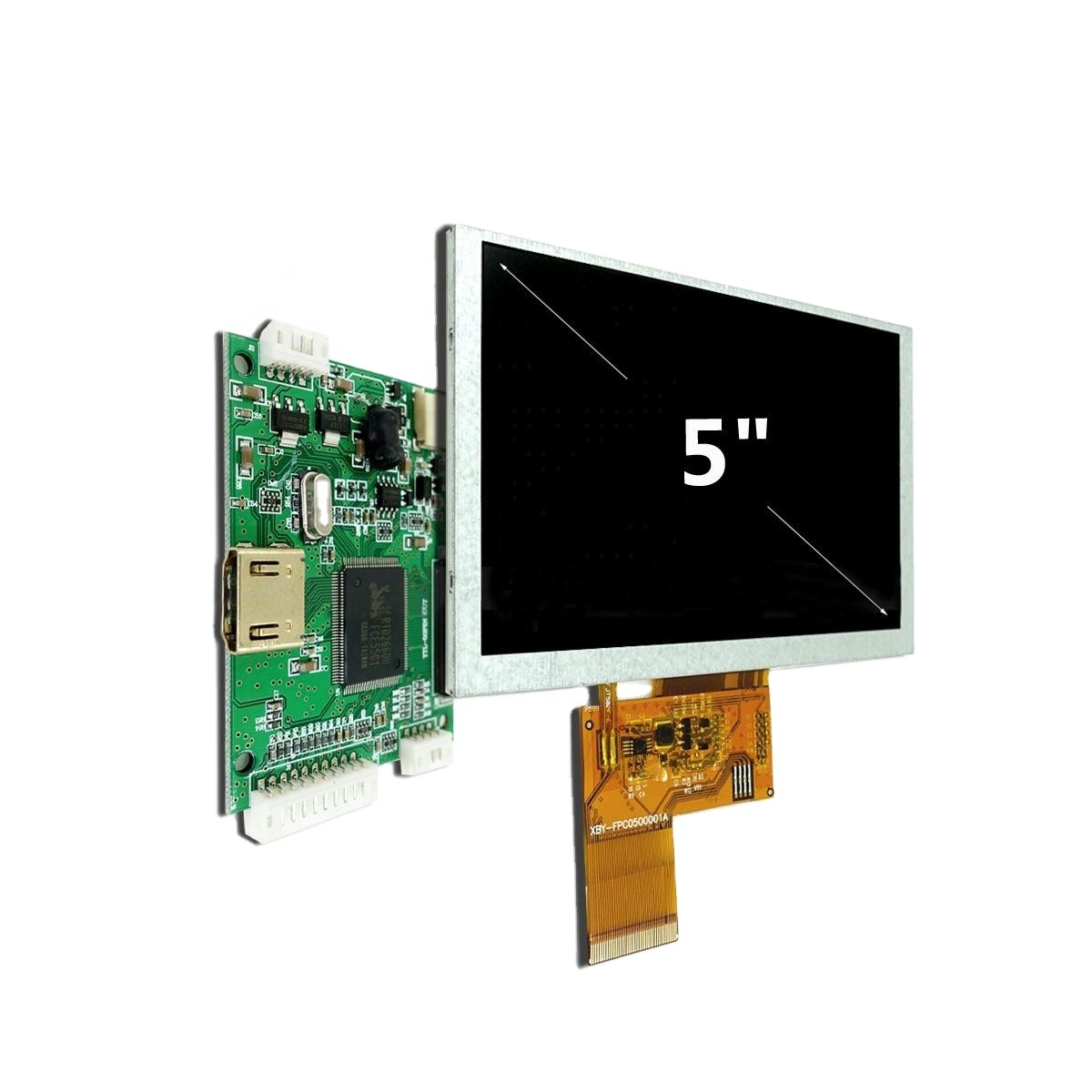 """5"""" inch 800x480 HD TFT LCD Display Raspberry Pi Touch Panel Optional"""