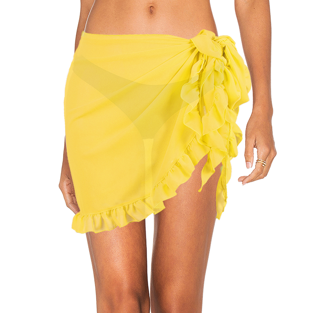 Hawaiian Lavalava Beach Pareo Sarong Polynesian Turtle Print Women Swimsuit Wrap Skirt Beach Sarong Bikini Cover Up for Vacation