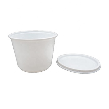 16Oz Cheap Disposable Pp Hot Food Plastic Soup Cups With Lid Wholesale