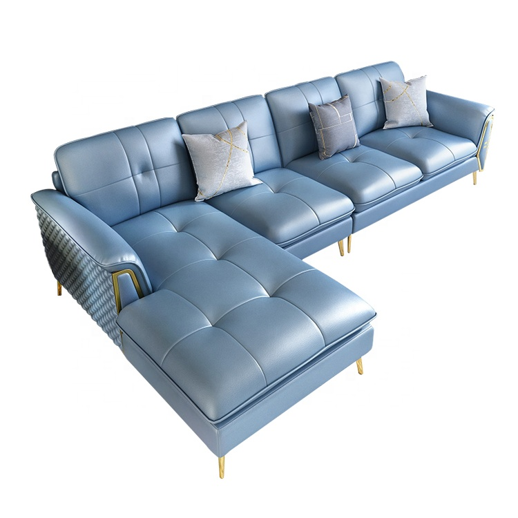 Furniture Living Room Home Interior Corner Blue Leather Sofa Set 7 Seater Designs Living Room Sofas Sectionals Buy Blue Corner Sofa Leather Sofa Corner Furniture Modern Design Corner Sofa Product On Alibaba Com