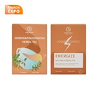 Tea Private Label Chinese Tea Ginseng And Polygonatum Herbal Tea For Healthcare And Energize