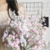 2021 New Design Wedding Decoration Silk babysbreath artificial flower bouquet
