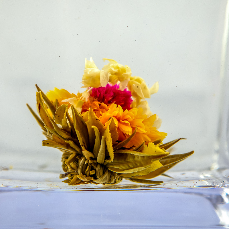 N23 Beautiful blooming flower tea different kinds of blooming tea ball - 4uTea | 4uTea.com