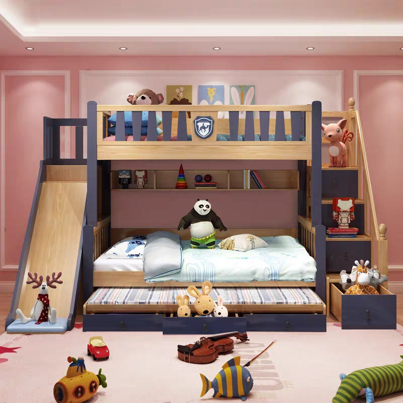 High Quality Solid Wood Bunk Bed Bedroom Furniture Bunk Bed Drawers And Ladder Buy High Quality Bunk Bed Solid Wood Bedroom Furniture Bunk Bed Drawers And Ladder Product On Alibaba Com