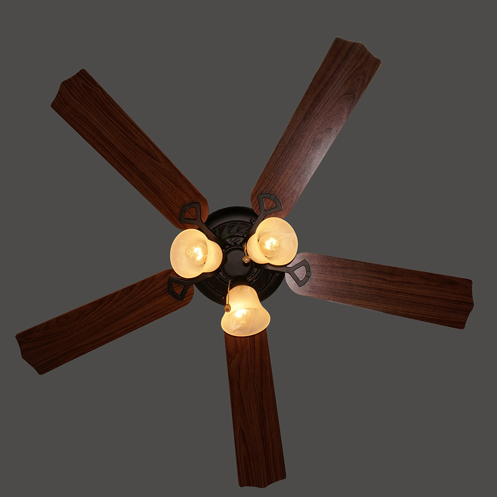 42 дюйма Классическая обеденная Античная бронзовая декоративная современная люстра, потолочные вентиляторы с подсветкой, потолочный вентилятор