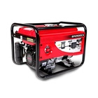 China Factory Gasoline Engine Generator 2500 2.5kw 3kw 168F-1 Portable Gasoline Generator Manual With Wheels