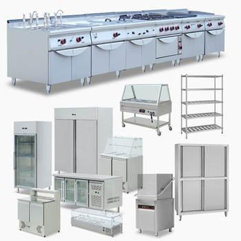 Foshan Factory fast food kitchen equipment supply/commercial restaurant canteen kitchen equipment