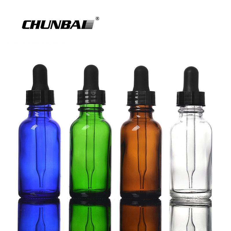Оптовая продажа, стеклянная пипетка, градуированная, 10 мл, 30 мл, 50 мл, 60 мл, 100 мл, 120 мл для стеклянной бутылки-капельницы для эфирного масла Eliquid