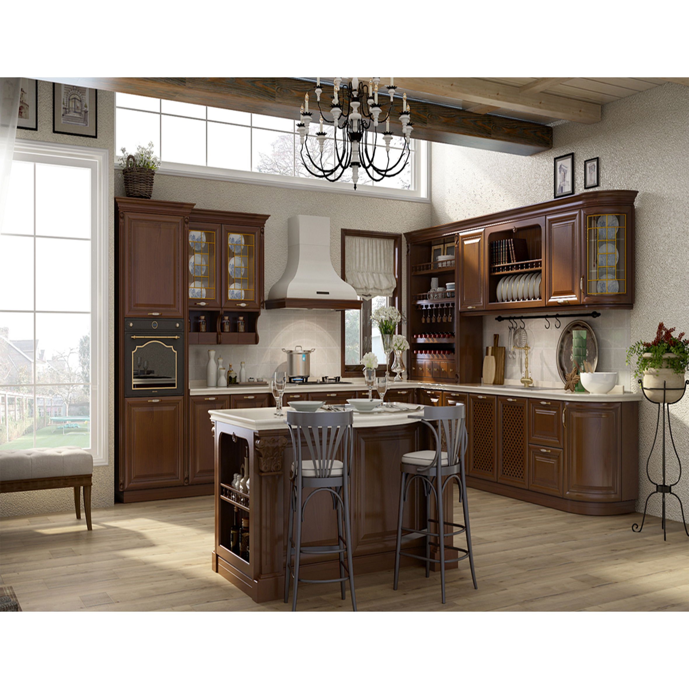 Solid Wood Corner Kitchen Pantry Cabinet American Villa Project Solid Wood Luxury White Kitchen Unit Cabinet Buy Mini Bar Kitchen Cabinet Pvc Kitchen Cabinet Modern Design Mdf Lacquer Kitchen Cabinets Product On Alibaba Com