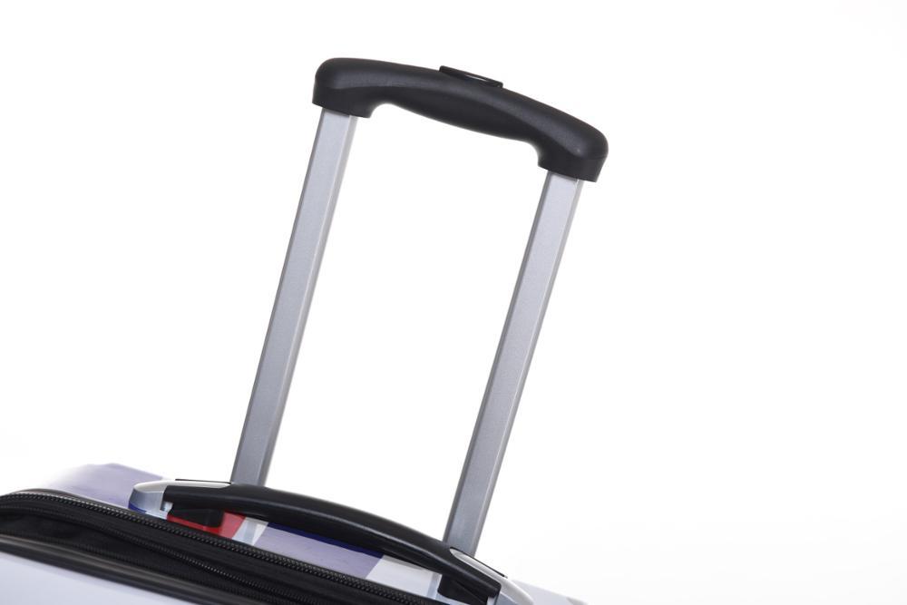 Высококачественный жесткий пластиковый чемодан из АБС-пластика, 20, 24, 28 дюймов, чемодан с колесами, комплект ручной клади