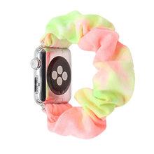 Для Apple Watch Band 5 4 3 2 1 резинка эластичный женский ремень ремешок для Apple Watch браслет для iWatch 44 мм 40 мм 42 мм 38 мм(Китай)