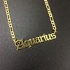 Necklace Gold Aquarius