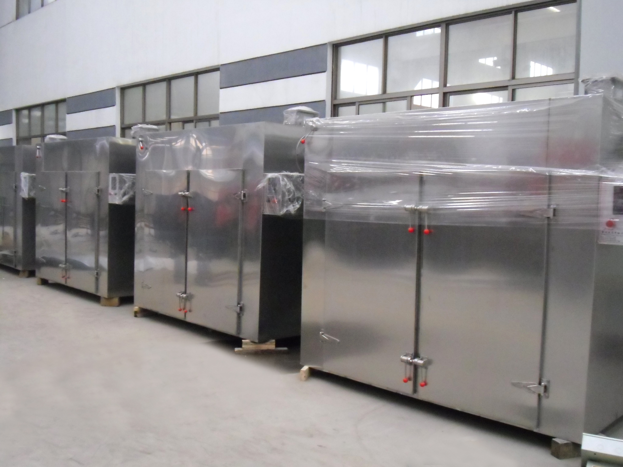 CT Easy To Use Industry Stainless Steel Hot Air Circulating Drying Oven Dryer Machine For Vegetable Sausage