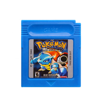 Free Shipping Wholesale Good Quality 7 Colors of Pokemon Cards Trading Game Cards for GBA GBC