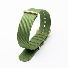Ремень для браслета NATO, нейлоновый ремешок, 18 мм, 20 мм, 22 мм, 24 мм, сменный, для мужчин, для женщин, для мужчин, ремешок для часов(China)