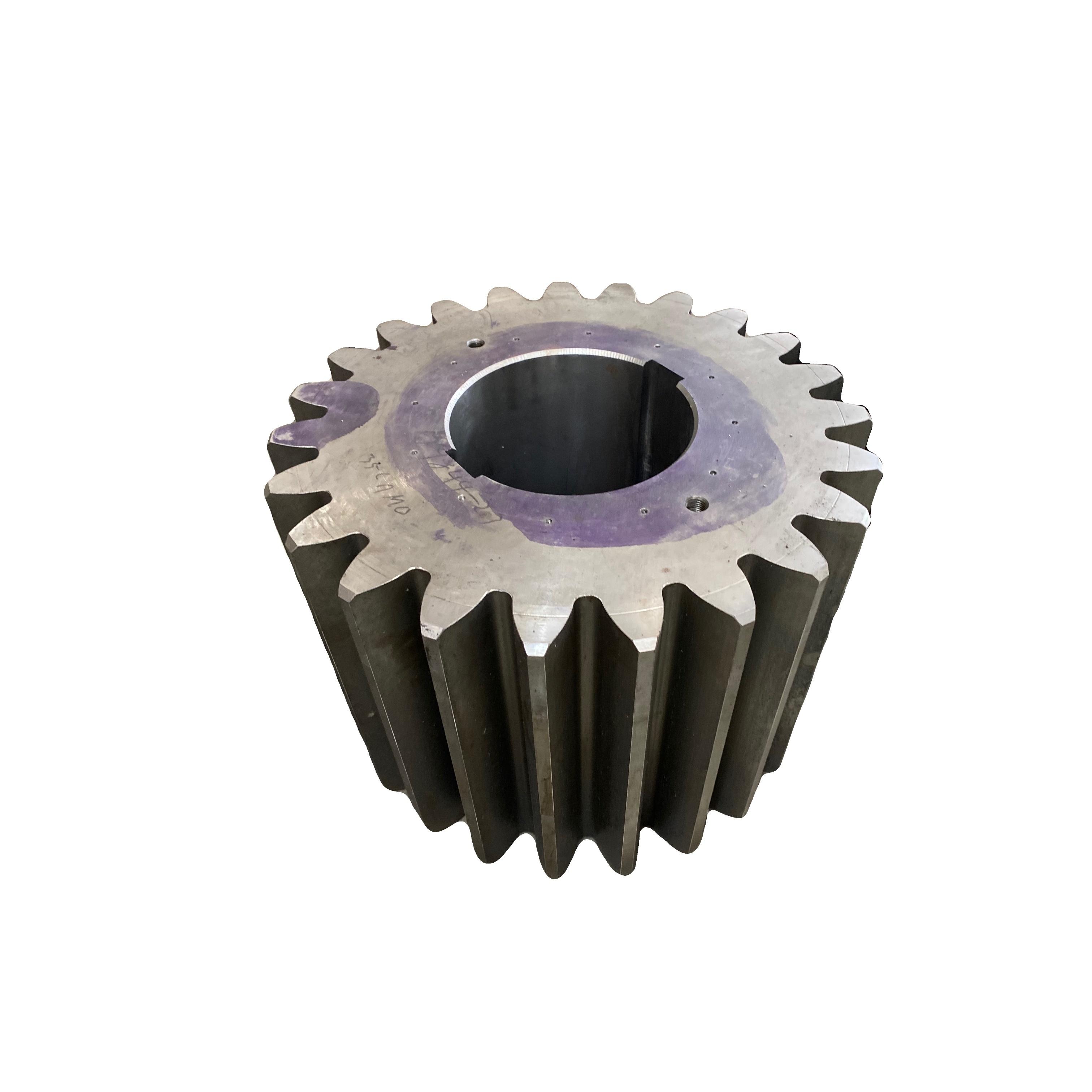 Manufacturer Customized Gear Wheel Large Diameter S45C Spur Gears