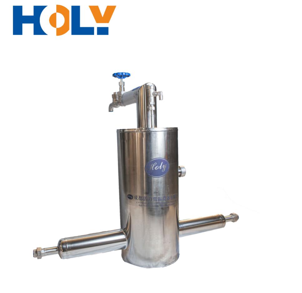 ASME & CE Liquid Nitrogen Phase Separator of Vacuum Insulated Pipe System
