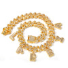 gold chain size 9inch