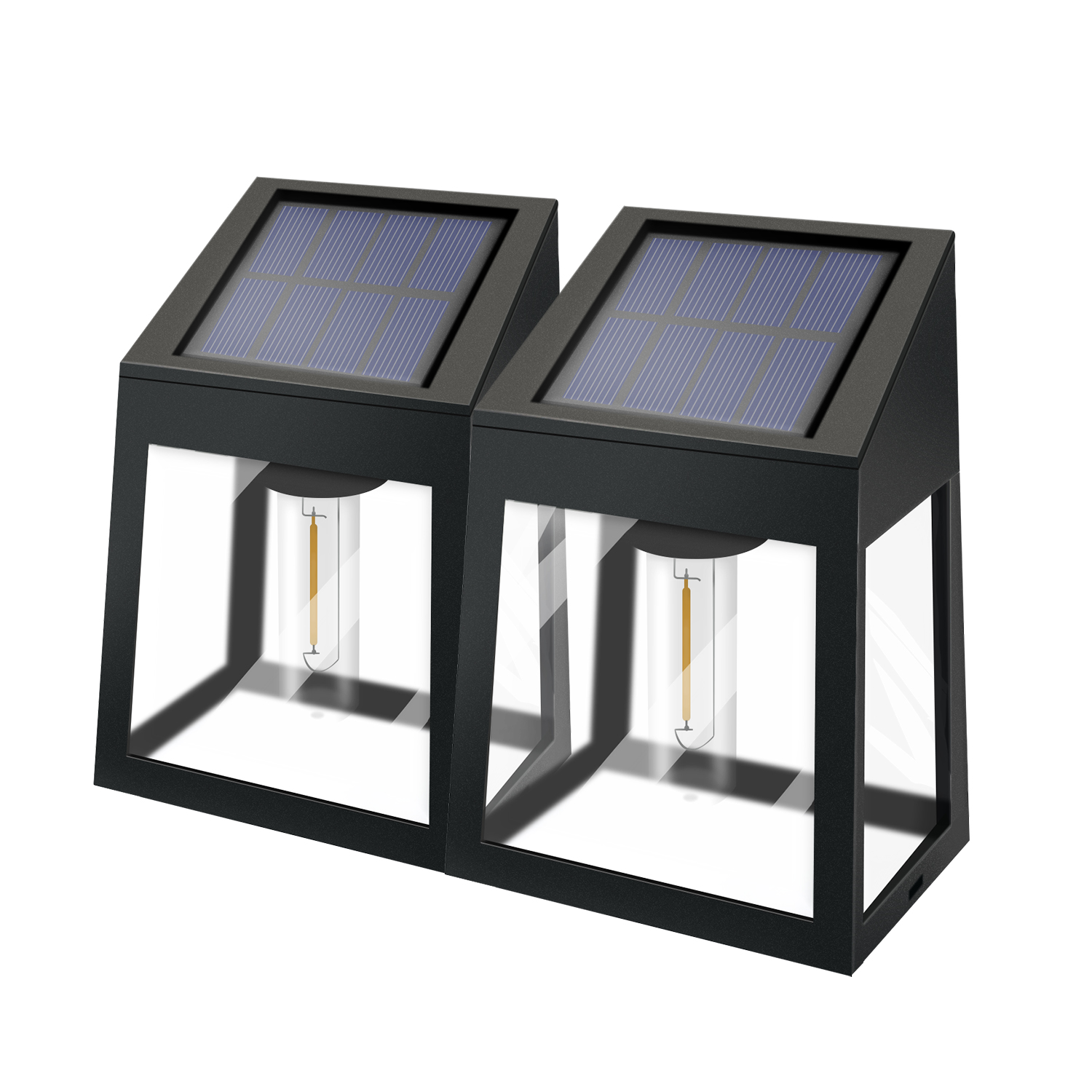 Professional Solar Light no wires needed outside solar wall light of outdoor waterproof
