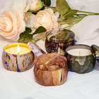 Candles Candle Wholesale Aromatherapy Soy Wax Scented Candles Luxury Chakra Candle Private Label Scented