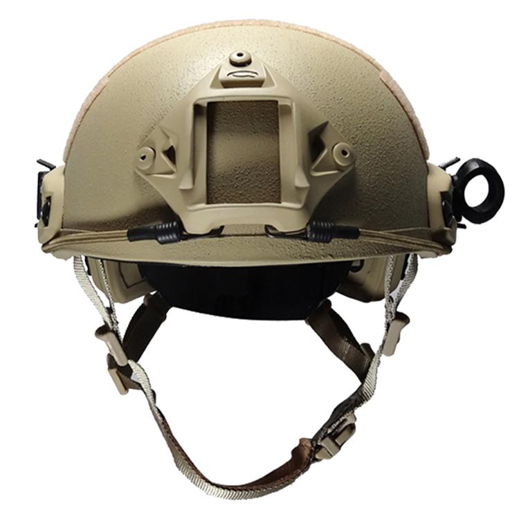 Tan American aramid NIJ 0106.01 IIIA military tactical bulletproof helmet