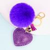 07-Purple peach heart