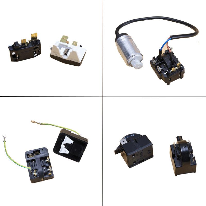 Детали для холодильника, морозильной камеры, компрессор, стартер, конденсатор, защита от перегрузки, тепловые аксессуары
