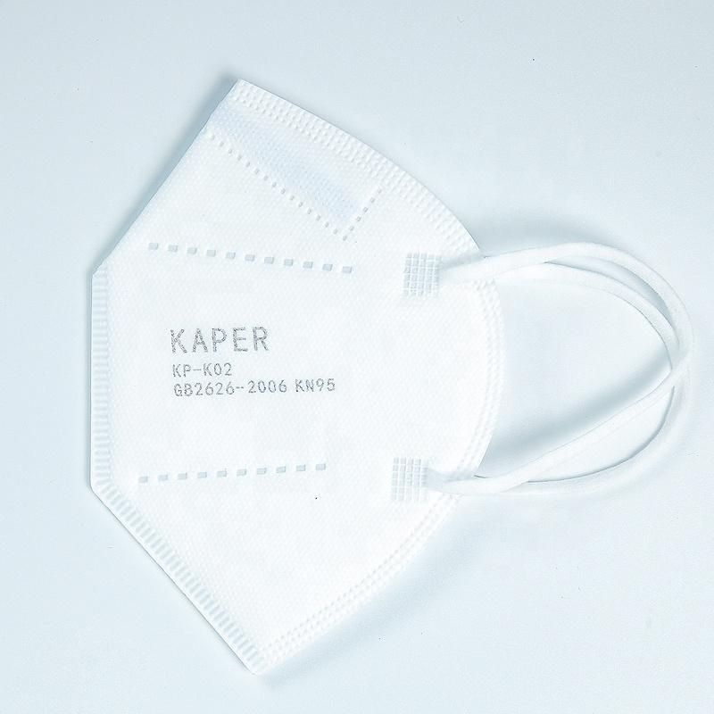 Non-woven KN95 series folding disposable filter protective face mask - KingCare   KingCare.net