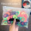 50pcs mix colors 2
